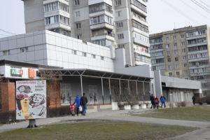 Літня тераса кафе Челентано на проспекті Металургів 18 лютого 2018